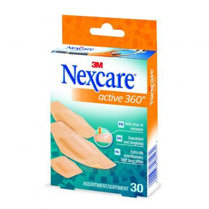 Nexcare Active 360° Pflaster Assortiert 3 Größen