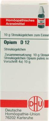 OPIUM D 12 Globuli