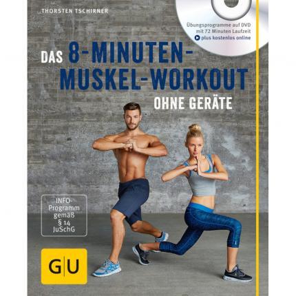 GU Das 8-Minuten-Muskel-Workout o.Geräte mit DVD