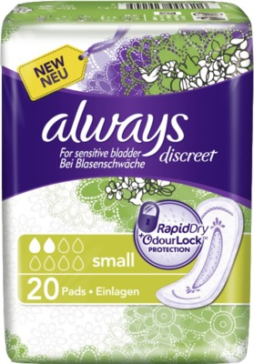 ALWAYS discreet Inkontinenz Binden small
