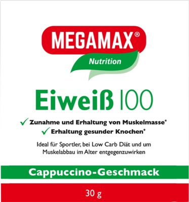 EIWEISS 100 Cappuccino Megamax Pulver