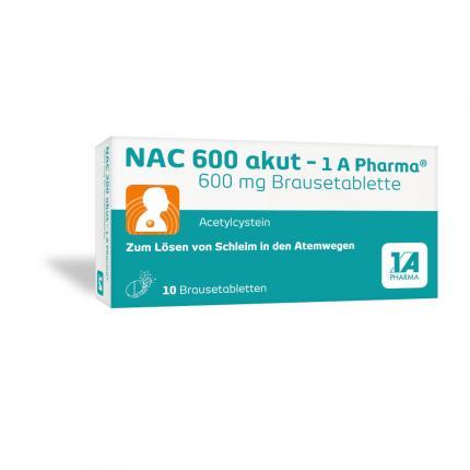NAC 600 akut - 1A Pharma
