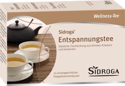 SIDROGA Wellness Entspannungstee Filterbeutel