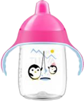 AVENT Sip No Drip Becher 340 ml pink