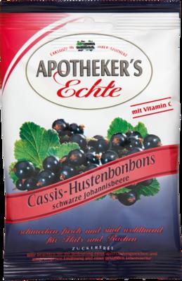 APOTHEKERS Echte Cassis Hustenbonbons