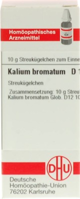 KALIUM BROMATUM D 12 Globuli
