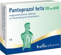 Pantoprazol beta 20mg acid