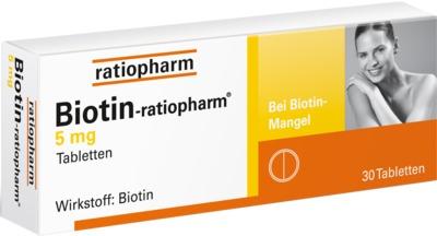 BIOTIN RATIOPHARM 5 mg Tabletten