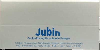 JUBIN Zuckerlösung schnelle Energie Tube