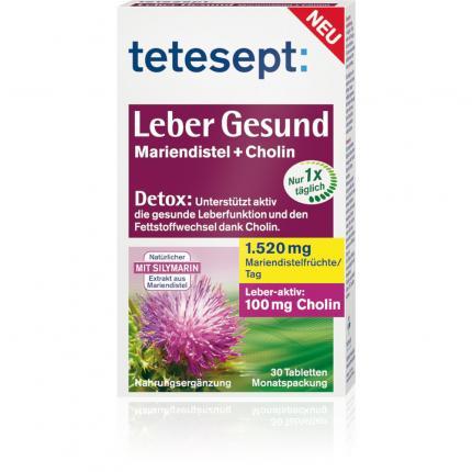 Tetesept Leber Gesund Tabletten