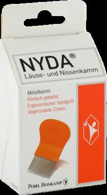 NYDA Läuse- und Nissenkamm Metall