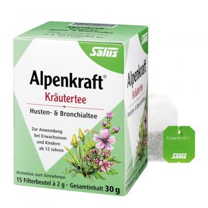 ALPENKRAFT Husten- und Bronchialtee Salus Fbtl.