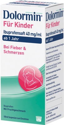 Dolormin für Kinder Ibuprofensaft 40mg/ml