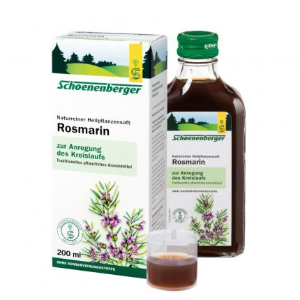 ROSMARIN SAFT Schoenenberger Heilpflanzensäfte