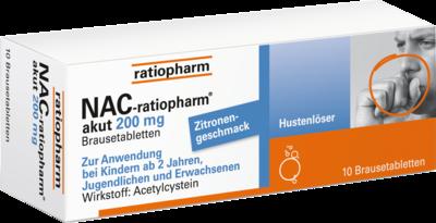NAC-ratiopharm akut 200mg Hustenlöser