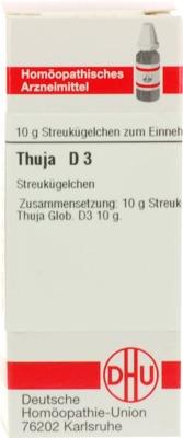 THUJA D 3 Globuli