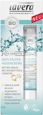 LAVERA basis sensitiv Augencreme Q10 dt