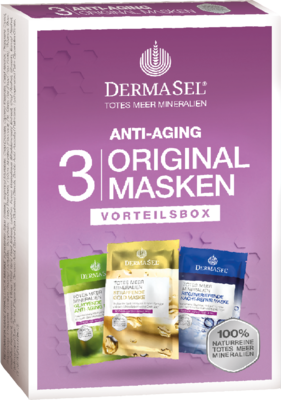 DERMASEL Maskenbox Anti-Aging limited Edition