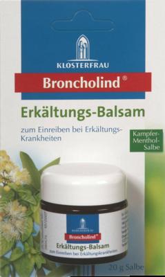 Broncholind Erkältungs-Balsam