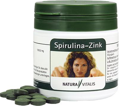 NATURA VITALIS Spirulina-Zink Tabletten