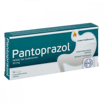 Pantoprazol HEXAL bei Sodbrennen 20mg