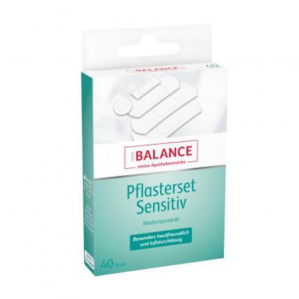 GEHE BALANCE Pflaster-Set sensitive 5 Größen
