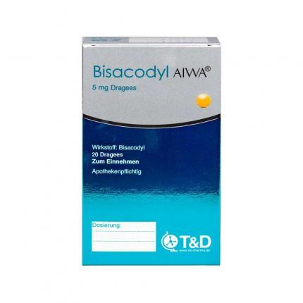 Bisacodyl Aiwa 5 Mg Magensaftresistente Tabletten