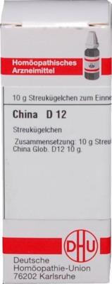 CHINA D 12 Globuli