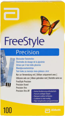 FREESTYLE Precision Blutzucker Teststr.o.Codier.