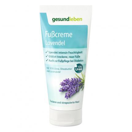 GEHE BALANCE Fußcreme Lavendel