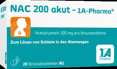 NAC 200 akut-1A Pharma