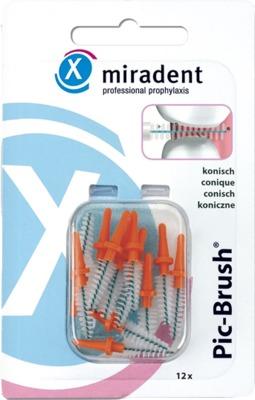 miradent Pic-Brush konisch orange