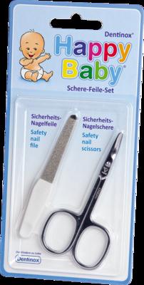 KINDER SCHERE-FEILE-SET je 1 Babyschere+Minifeile