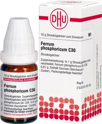 FERRUM PHOSPHORICUM C 30 Globuli