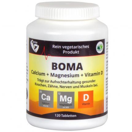 CALCIUM+MAGNESIUM+Vitamin D Tabletten
