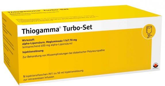 Thiogamma Turbo Set Injektionslösung