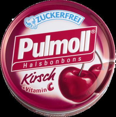 PULMOLL Hustenbonbons Wildkirsch+Vit.C zuckerfrei