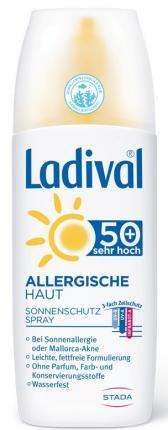 Ladival ALLERGISCHE HAUT SONNENSCHUTZ SPRAY LSF 50+