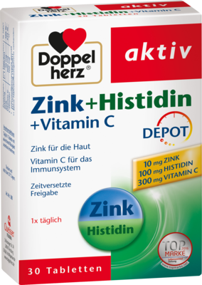 DOPPELHERZ Zink+Histidin Depot Tabletten