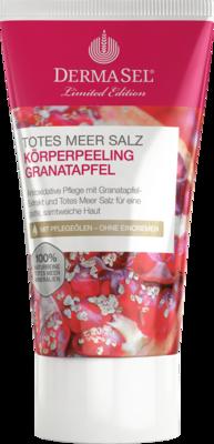DERMASEL Peeling Körper Granatapfel limited edit.