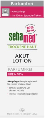 SEBAMED Trockene Haut parfümfrei Lotion Urea 10%