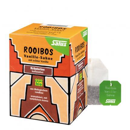 Rooibos Tee Vanille-sahne Kräutertee Bio Salus