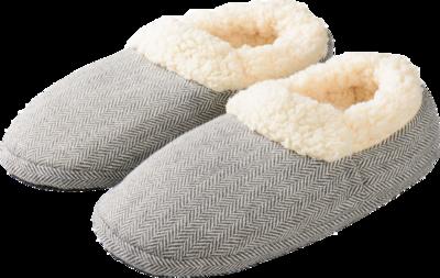 WARMIES Slippies Comfort Gr.37-41 grau