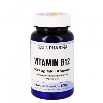 VITAMIN B12 500UG GPH KAPS
