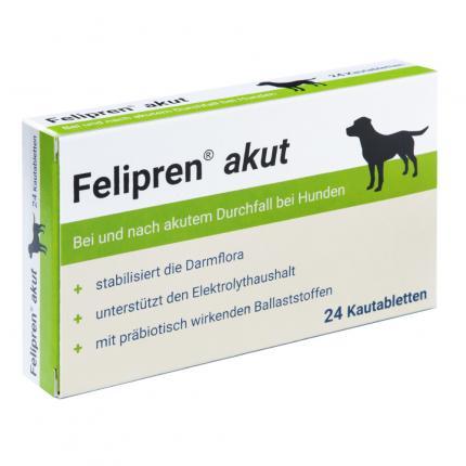 Felipren akut Kautabletten bei Durchfall für Hunde