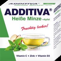 ADDITIVA heiße Minze+Apfel Pulver