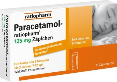 Paracetamol-ratiopharm 125mg