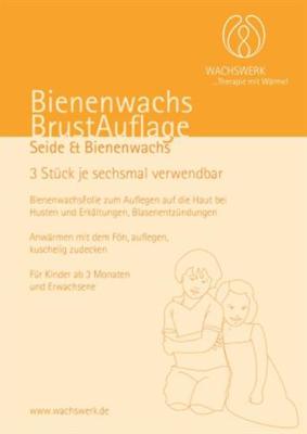 BIENENWACHS BRUSTAUFLAGE Set Wachswerk