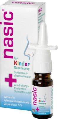 nasic für Kinder Nasenspray