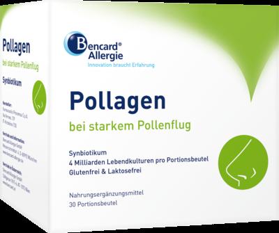 Pollagen Synbiotikum bei starkem Pollenflug